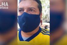 Photo of Morador da Ilha sente a comoção do velório de Maradona